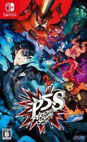 Persona 5 Nintendo Switch Scramble The Phantom Strikers 2020 Game soft Japanese