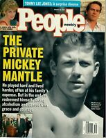 People Magazine August 28 1995 The Private Mickey Mantle Yankees Prince Diana