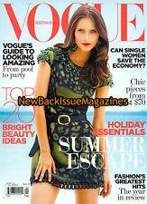 Australian Vogue 1/09,Valerija Erokhina,Grace Jones,January 09,NEW