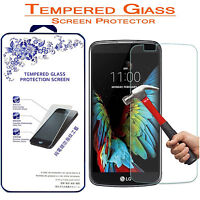 For LG K10 Premium Tempered Glass Screen Protector