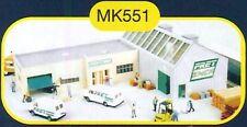 Maquette MKD - Mk551 Entrepôt Fret SNCF