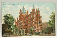 Vintage Postcard Chicago Illinois c.1907-1915 Presbyterian Hospital