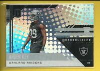 Arden Key RC  2018 Panini Unparalleled Rookie Card # 233 Oakland Raiders LSU