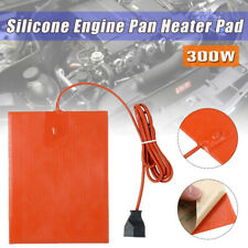 300W 20x15cm Car Engine Oil Pan Sump Tank Heater 220~240V Silicone Heating Pad