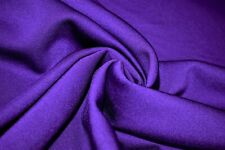 Purple Poly Lycra 4 Way Stretch Fabric Sport Wear Performance Knit Cold Gear