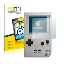 2x BROTECT Displayschutzfolie Klar Nintendo Gameboy Pocket Schutzfolie
