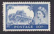 GB QE2 1955 Castle 10/- DLR printing SG538a UM MNH ** very small light gum fault