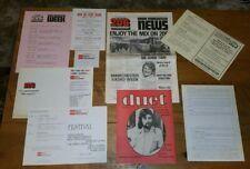Rare Vintage 1970's Mixed Set Of ILR BBC Radio Manchester 206 Memorabilia!