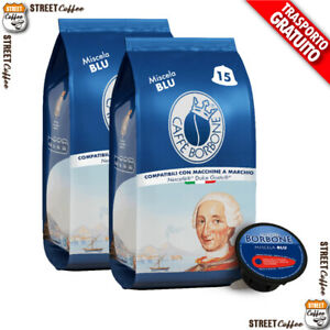 90 Capsule Caffè Borbone Miscela Blu 100% Compatibili Dolce Gusto Nescafè*