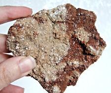 ARAGONITE brut Maroc boule de cristaux bruns 177 g / 8,7 cm x 7 cm