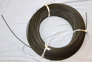 Shimano black 4mm shift cable housing 300 meters, 984' new!