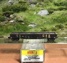Z Scale Micro-Trains #522 44 240 Weathered Csx Transportation 50' Gondola W Load