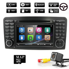 "For Mercedes Benz ML-Class W164 7"" Car DVD Player GPS Radio Stereo Navi + CAMERA"