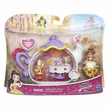 Disney Princess Little Kingdom Belle's Enchanted Dining Room Set Beauty & Beast