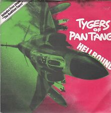 """TYGERS OF PAN TANG Hellbound + The Audition Tapes 2 X 7"""" Single MCA 672"""