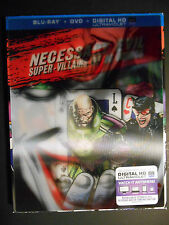 Necessary Evil: Super-Villains of DC Comics (Blu-ray/DVD) W/Lenticular Slipcover