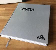 Adidas MAKING A DIFFERENCE Selten Buch Sport Geschichte Limited Edition Rare Eqt
