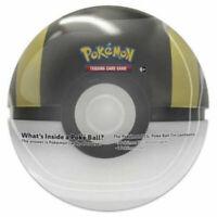 Pokemon Summer 2020 Collectors Poke Ball Tin - ULTRA BALL (3 packs & 1 Coin) New