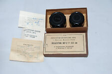 RUSSAR MP-2 f=2.0cm SN.414 ! viewfinder SN.757  full set y.1963 RARE!