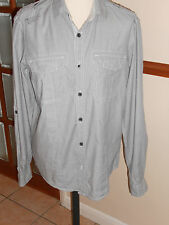 Burton Cotton Roll Sleeve Casual Shirts & Tops for Men