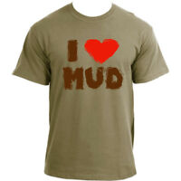 I Love Mud Music Festival Summer Glastonbury T-Shirt