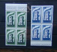 Italy 1956 Europa set in block x 4 MNH