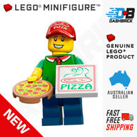 Genuine LEGO Minifigures - Pizza Delivery Guy, Series 12, #11 -New in Foil Pack