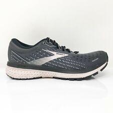 Brooks Womens Ghost 13 1203381B062 Black Running Shoes Lace Up Size 7 B Medium
