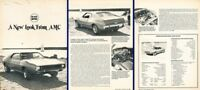 1972 AMC American motors Javelin SST Original Review Report Print Article K43