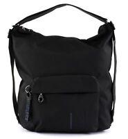 MANDARINA DUCK MD20 Hobo / Backpack Rucksack Tasche Black Schwarz Neu