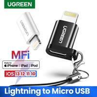 UGREEN Micro USB to Lightning 8 Pin Adapter Converter Fr Apple iPhone 8 7 6 iPad