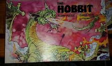 Vintage 1977 JRR Tolkien Hobbit DRAGON Lord Rings Jigsaw 200 Puzzle pieces RARE