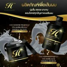 Hiso Keratin CHARCOAL Shampoo Hair Treatment Detox reduce hair loss strong