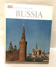 Time Life World Library Russia Hardcover 1971 Book Travel Educational Homeschool