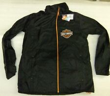 Harley-Davidson Herren Jacket, Regenjacke mit Kaputze