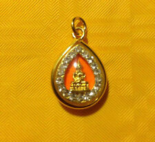 QUALITY Authentic Thai Buddhist Amulet Gift Pendant Good Luck Love &Protection M