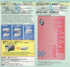 Stealth Card/RFID protector/blocker for contactless cr dr, anti-scam/skimming