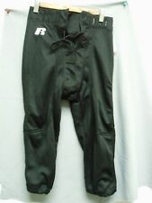 Mens Slotted Football Pants Black Polyester Practice New Small