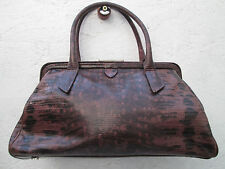 Original sac à main  FRANCESCO BIASIA cuir   TBEG vintage bag