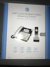 At&T E2562 2.4 Ghz 2 Lines Corded / Cordless Phone
