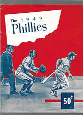 1949 PHILADELPHIA PHILLIES FIRST EVER YEARBOOK EXCELLENT BEAUTIFUL RARE
