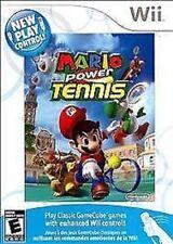 Mario Power Tennis USED SEALED NINTENDO Wii & Wii U **FREE SHIPPING!!