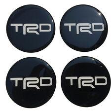 Wheel Center Caps Resin Logo Decal Sticker Red Racing 60 mm REVO VIGO SR5 ROCCO