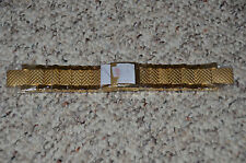 Invicta Subaqua Noma III SAN 3 Gold Plated Stainless Steel Watch Bracelet