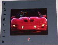 2002 02 Pontiac Firebird TA Trans Am TransAm Original sales  brochure MINT
