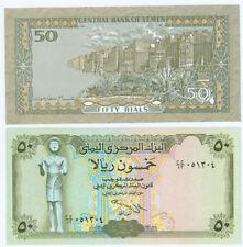 Jemen / Yemen  50 Rials  (1993)  kassenfrisch  P.27a