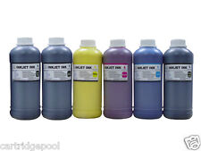 6 Pint refill Ink for DesignJet Z5400 Printer MK/C/M/Y/PK/LGY
