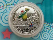 Niue Island 1 Dollar Year of the Dragon coin 2011 year