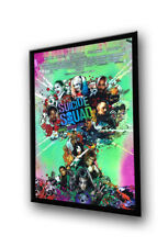 Premium 27x40 Black LED Movie Poster Light Box Display Frame - Quick Shipping