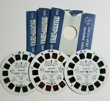 View-Master WUZZLES - 3 Reel Set 1054 A,B,C